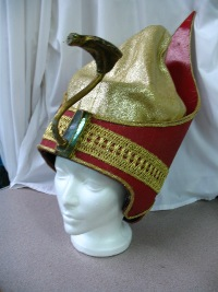 Headpiece - Pharaoh Double Crown.JPG