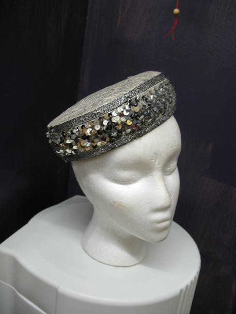 Pillbox silver sequins.JPG
